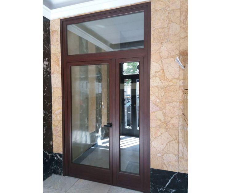 Puertas de aluminio de exterior en Madrid