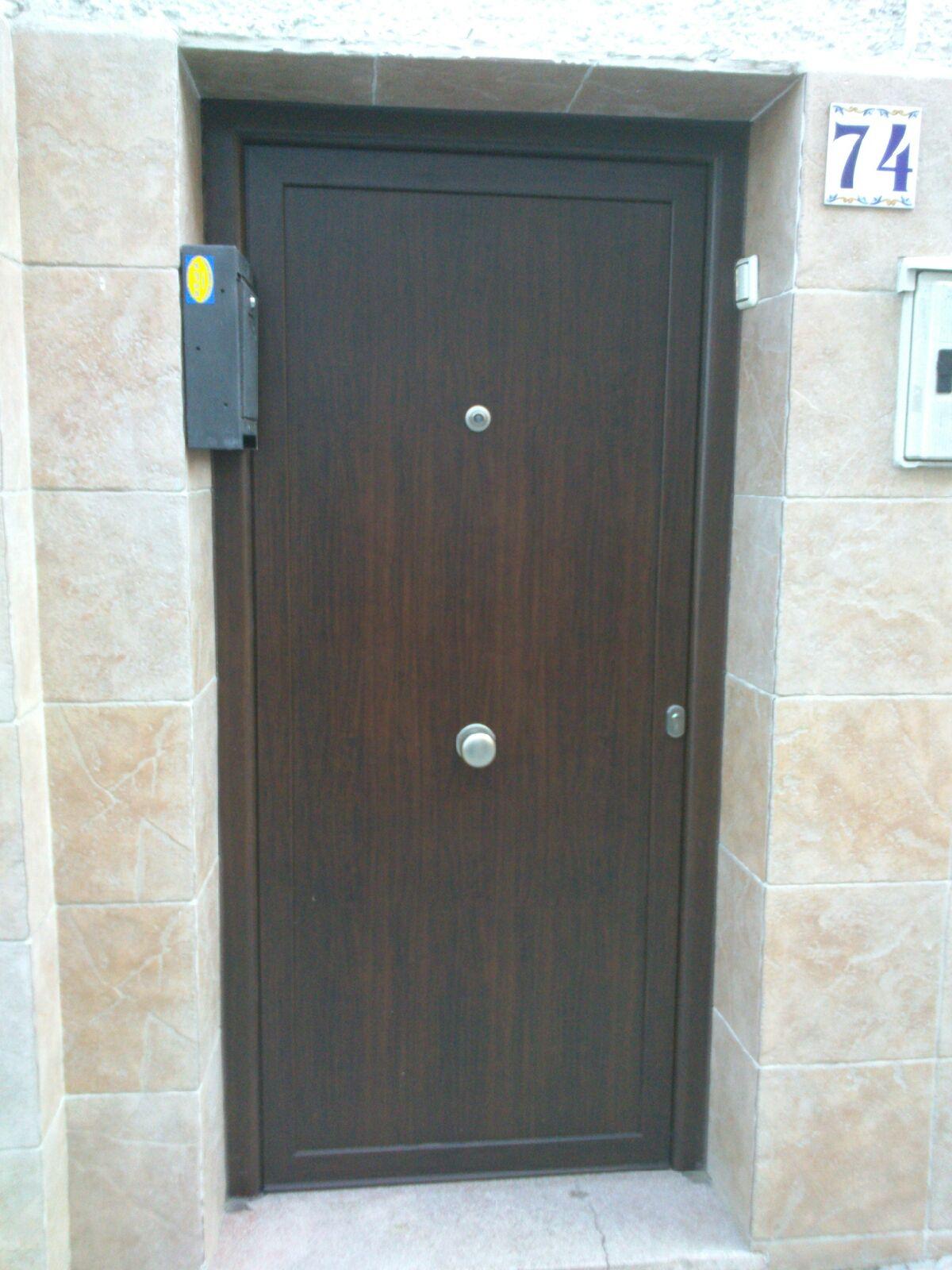 puerta de calle