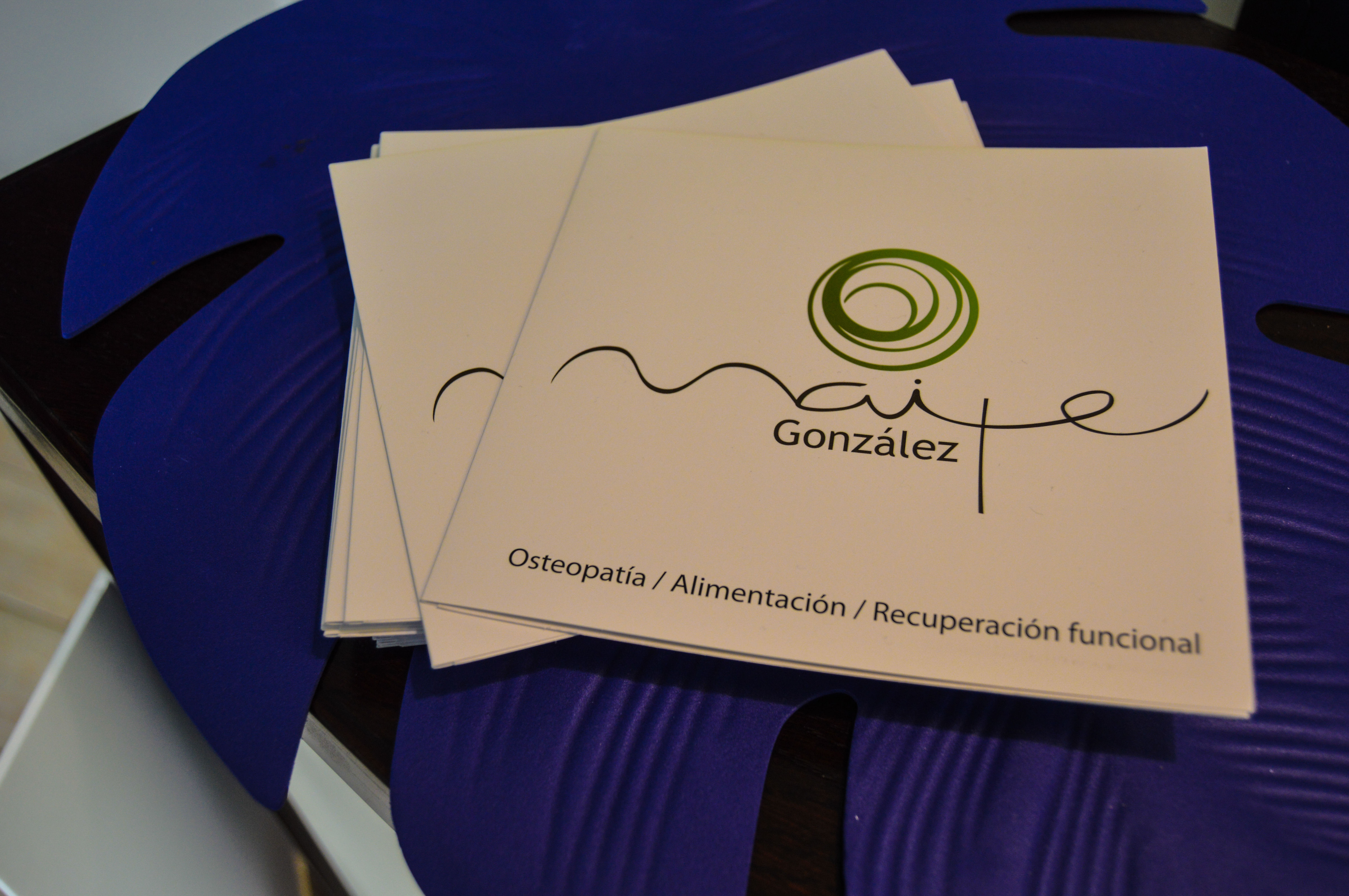 Foto 7 de Osteopatía en Berriatúa | Centro de Osteopatía Maite González