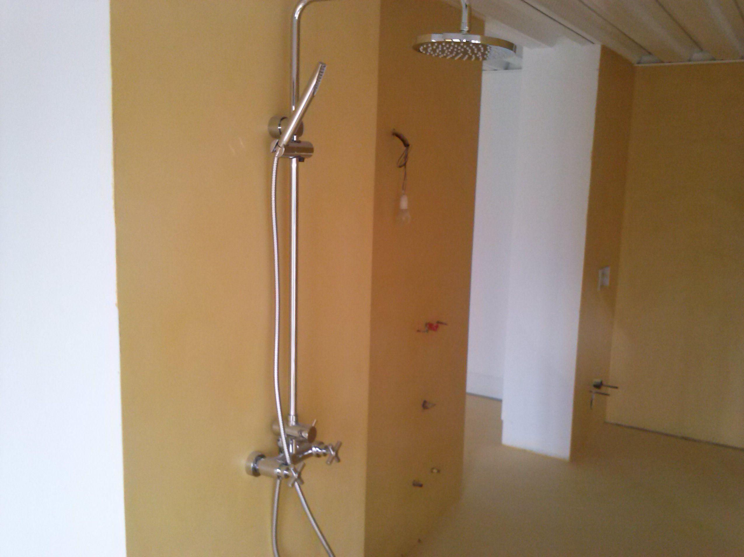 Microcemento baño Asturias