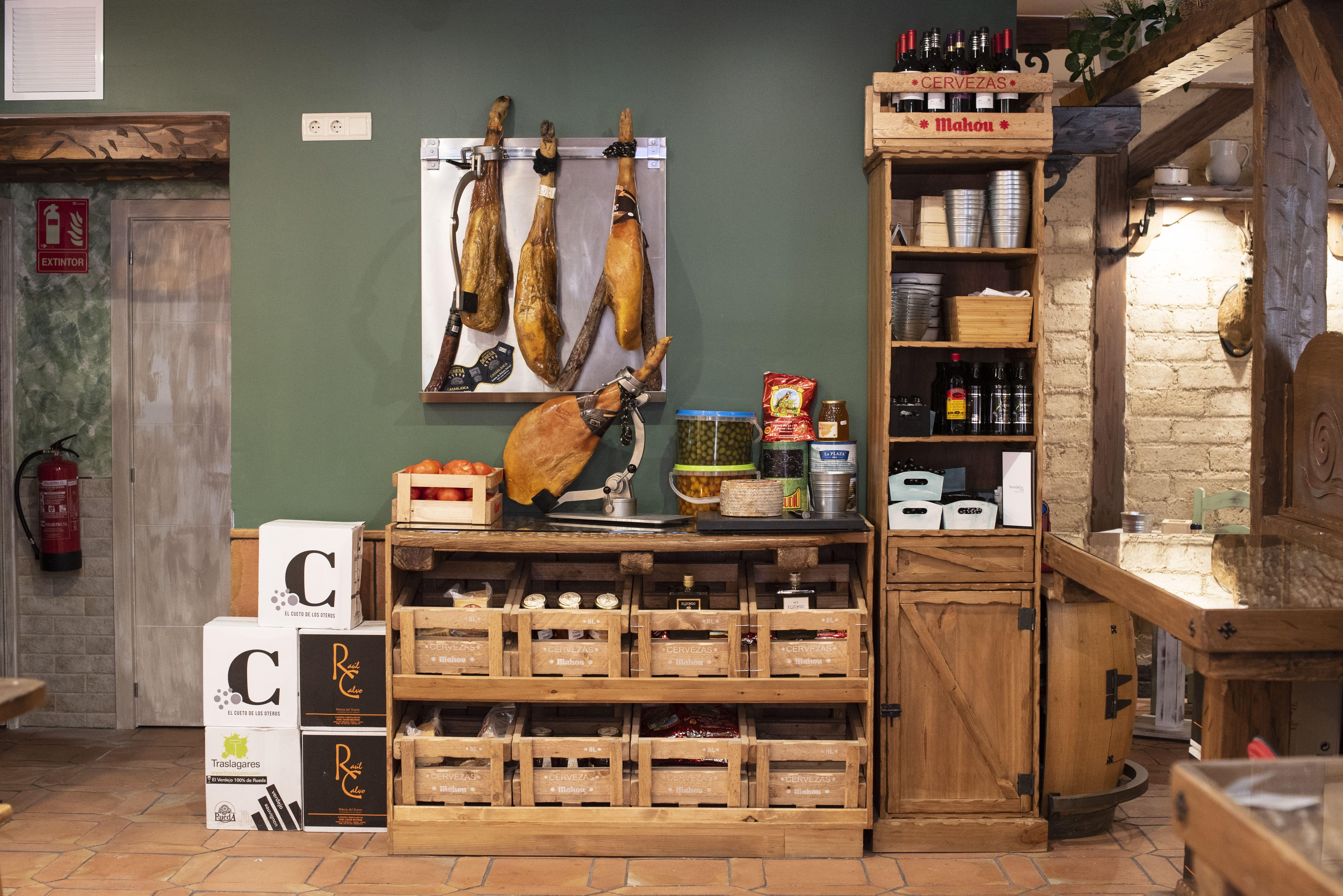 Restaurante con ambiente acogedor en Móstoles
