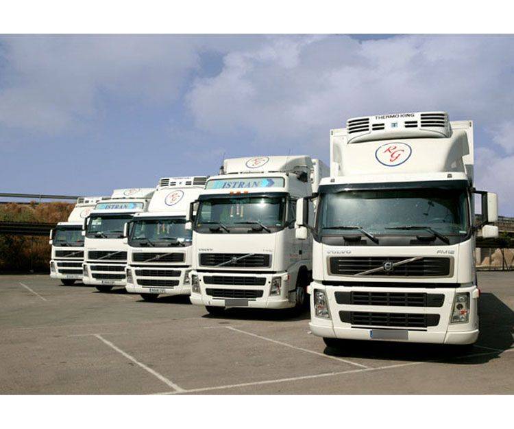 Transportes por carretera en Andalucía