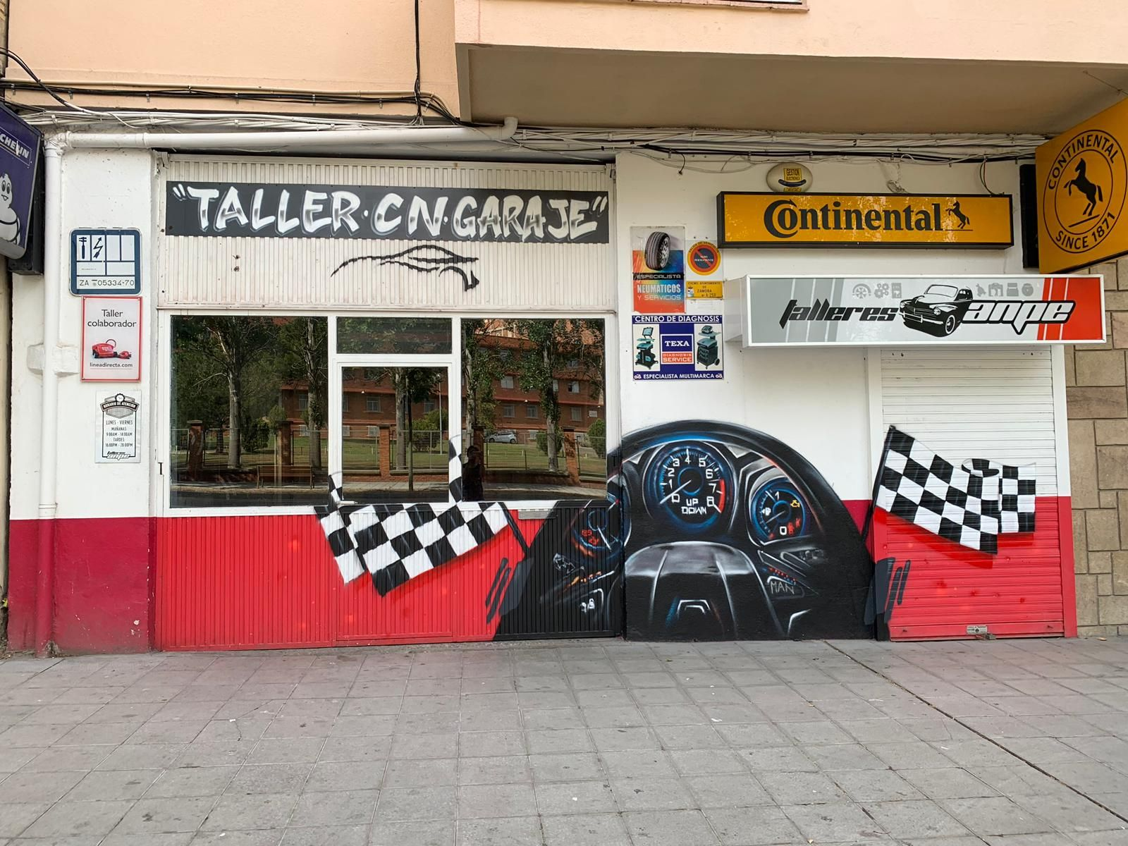 Taller mecánico en Zamora