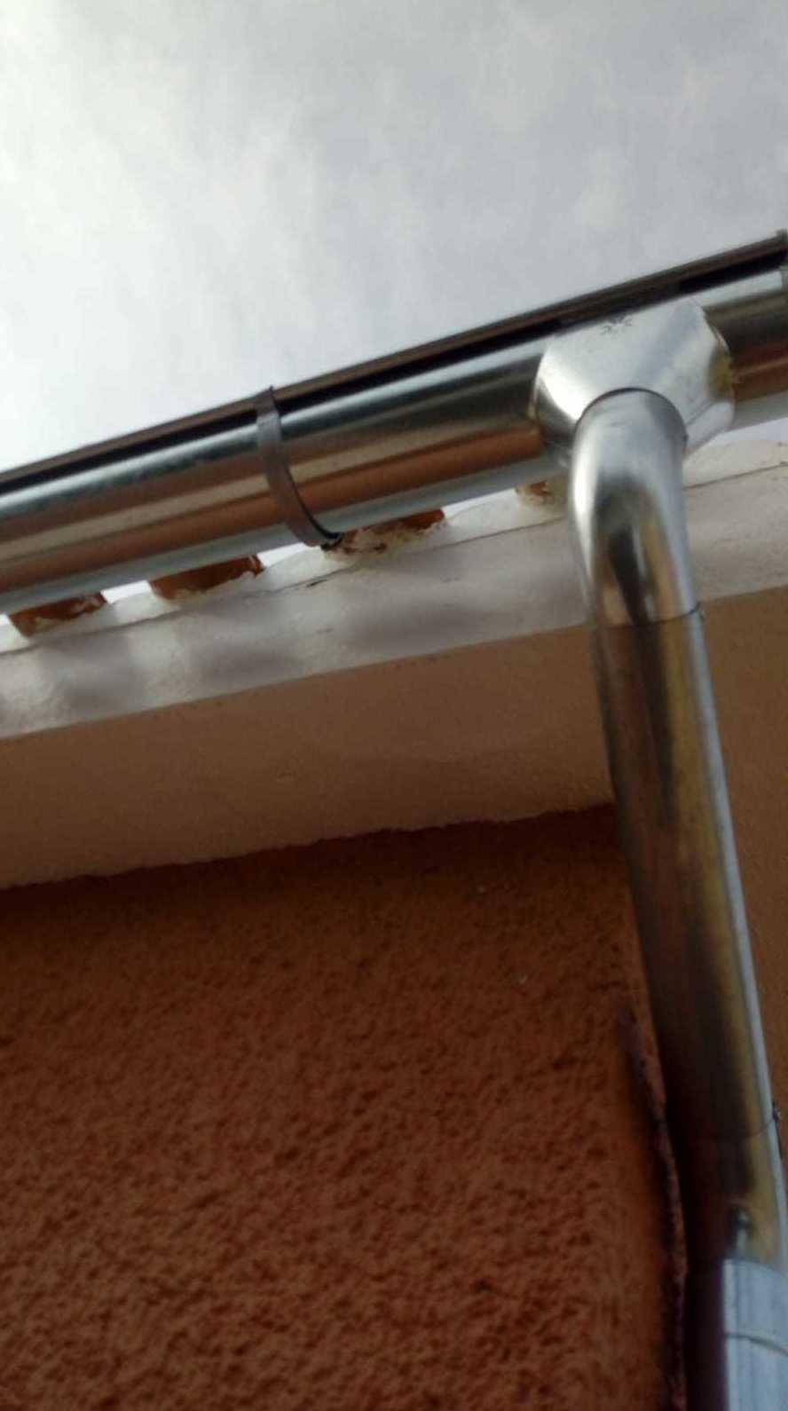 Canalones de aluminio galvanizado Alicante