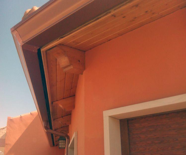 Canalones de aluminio para viviendas en Alicante