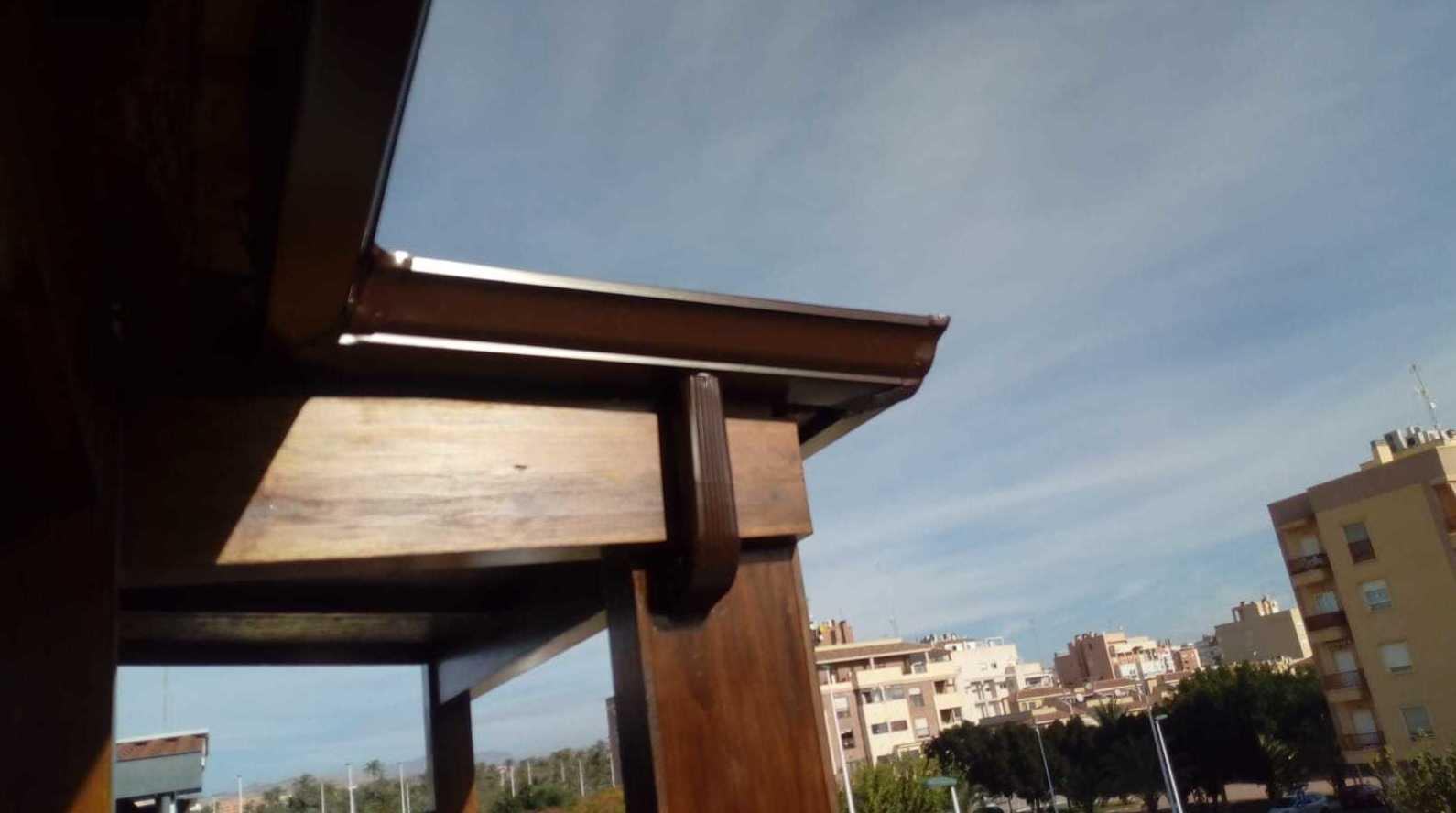 Canalones de agua Alicante