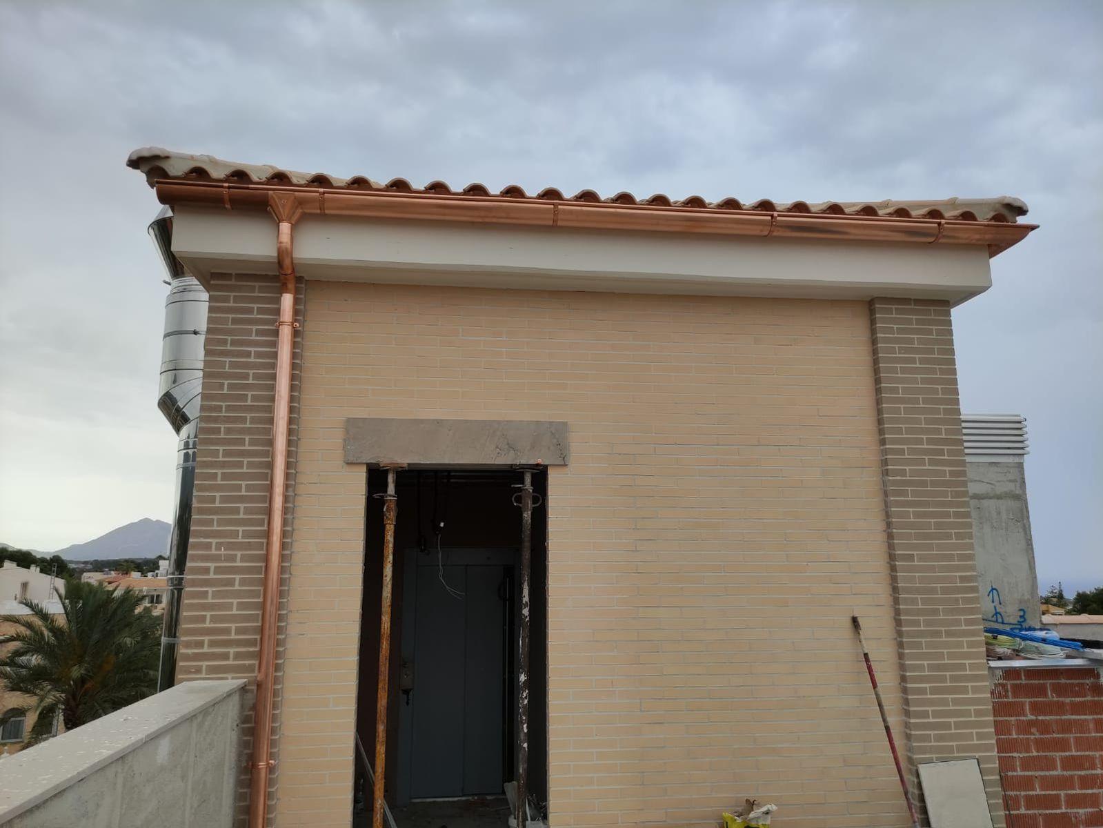 Canalones y bajantes Alicante