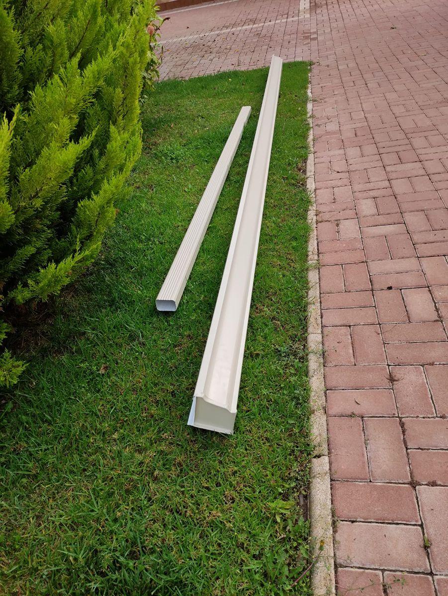 Canalones de aluminio Alicante