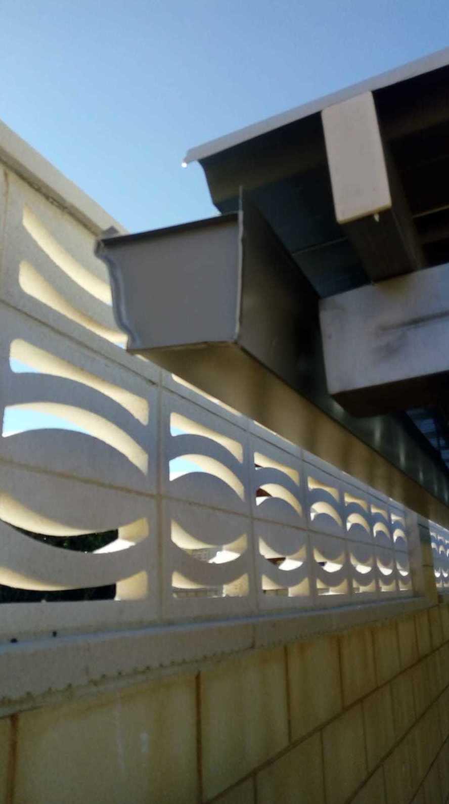 Instalación de canalones en todo tipo de obras