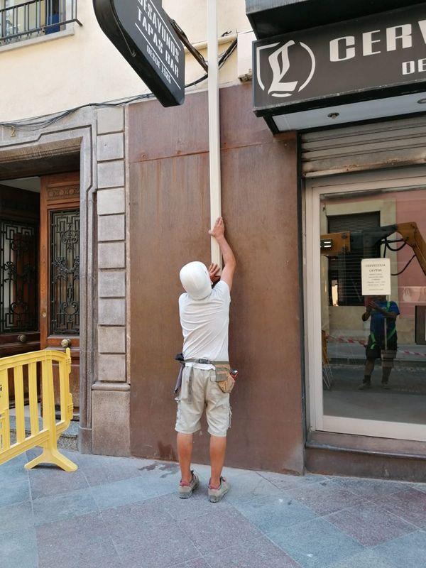 Mantenimiento de canalones de aluminio en Alicante