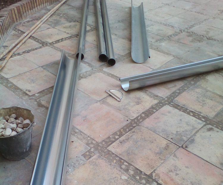 Canalones de aluminio en Elche, Alicante