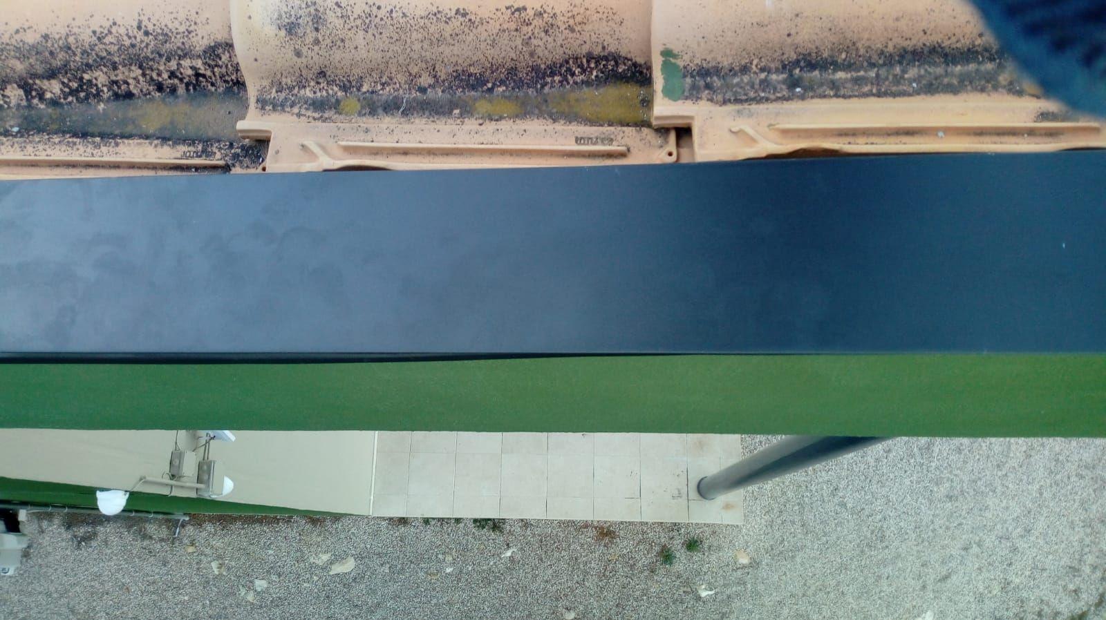 Foto 266 de Instalación de canalones de aluminio en  | Vicente Canalones