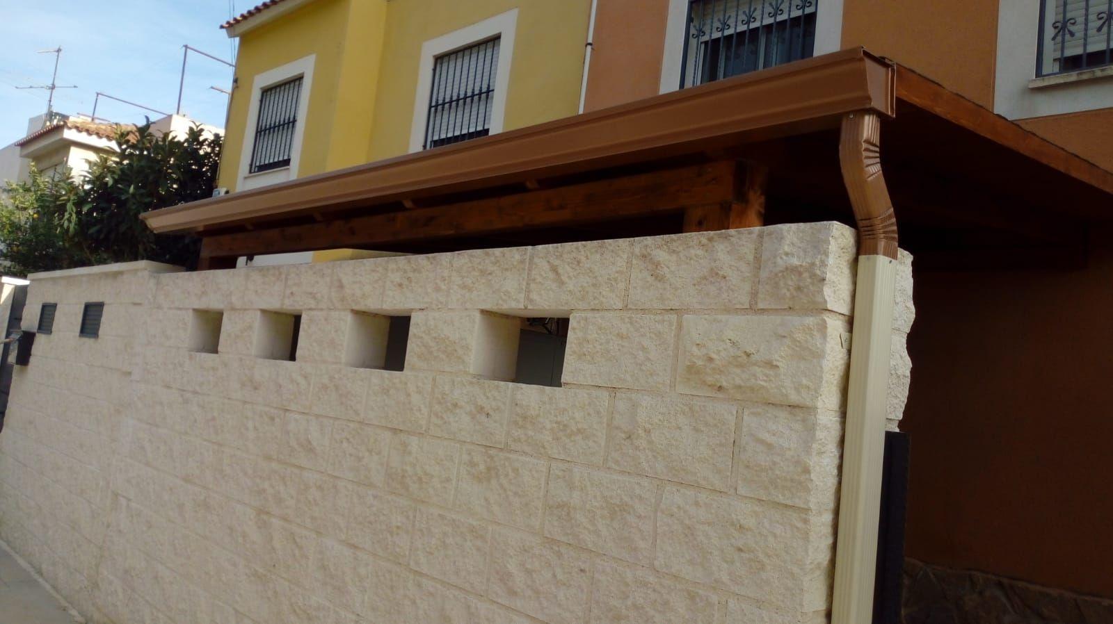 Cambio de canalones Alicante