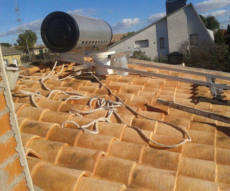 Instalaciones de calor solar en Madrid