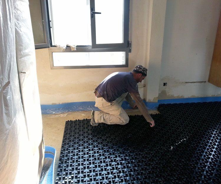 Instalación de suelo radiante en Madrid