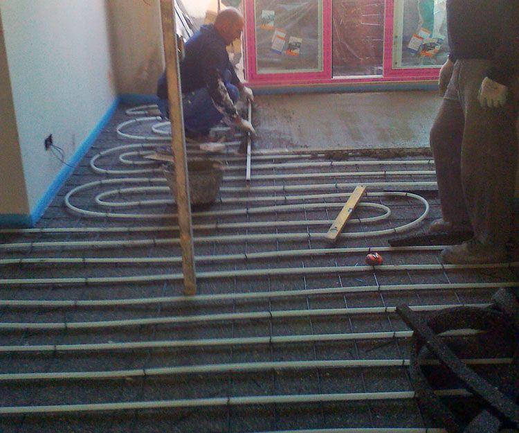 Proyectos de instalación de suelo radiante en Madrid