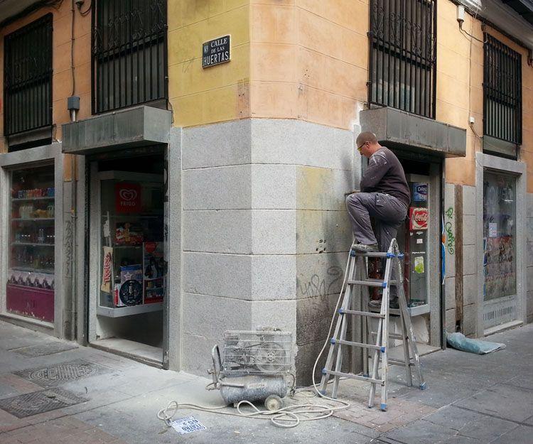 Empresa especializada en trabajos de abujardado en Madrid