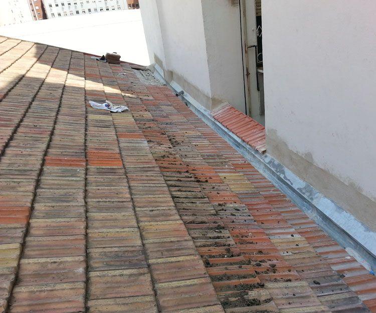Trabajos de rehabilitación de cubiertas en Madrid