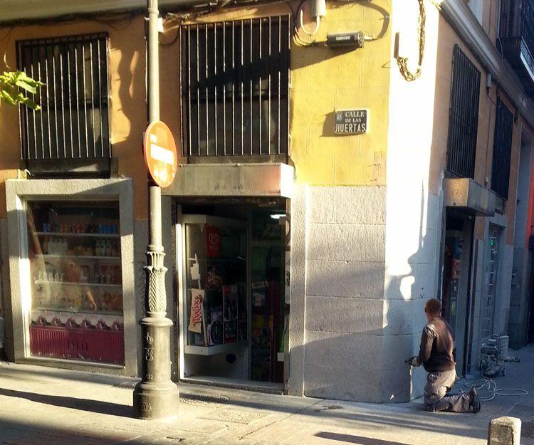 Trabajos de abujardado en Madrid