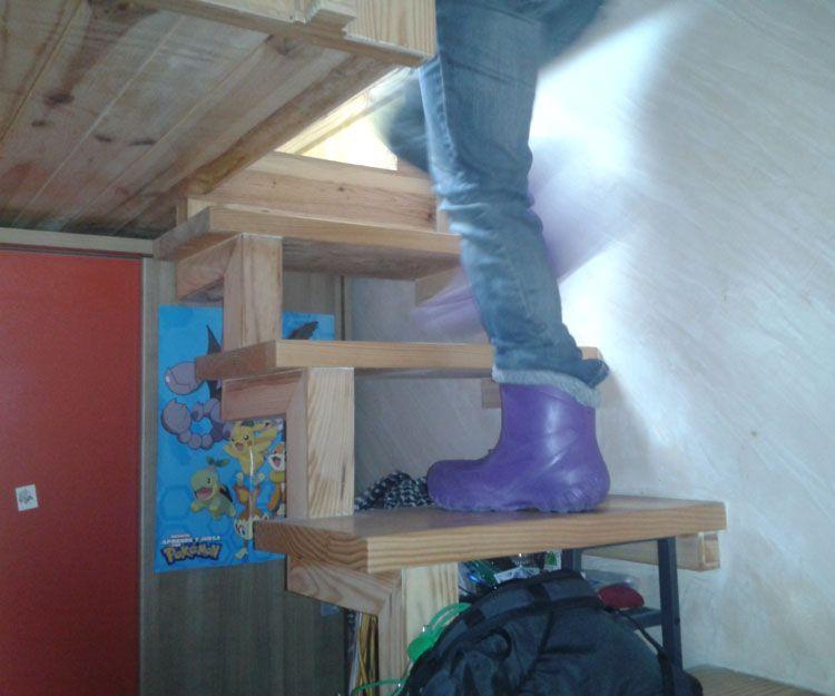 Proyectos de escaleras de madera insitu en Madrid