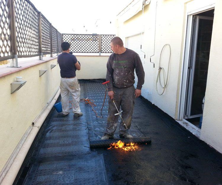 Empresa de impermeabilización de terrazas en Madrid