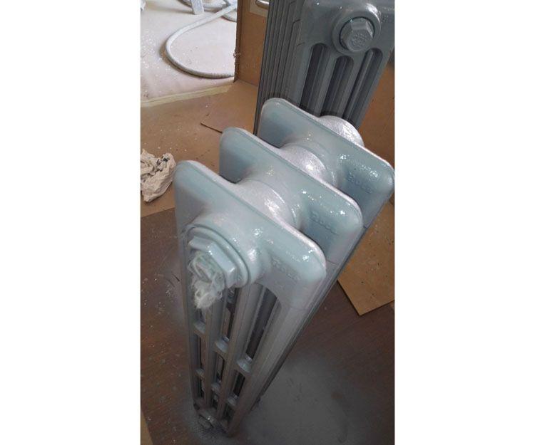 Trabajos de decapado de radiadores en Madrid