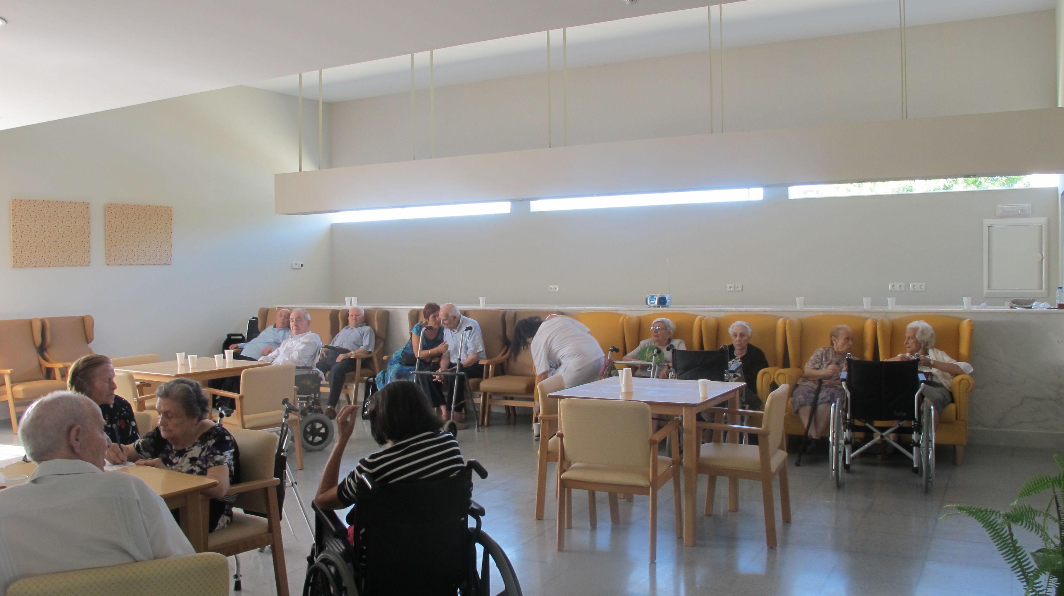 Residencia de ancianos en San Vicente de Alcántara