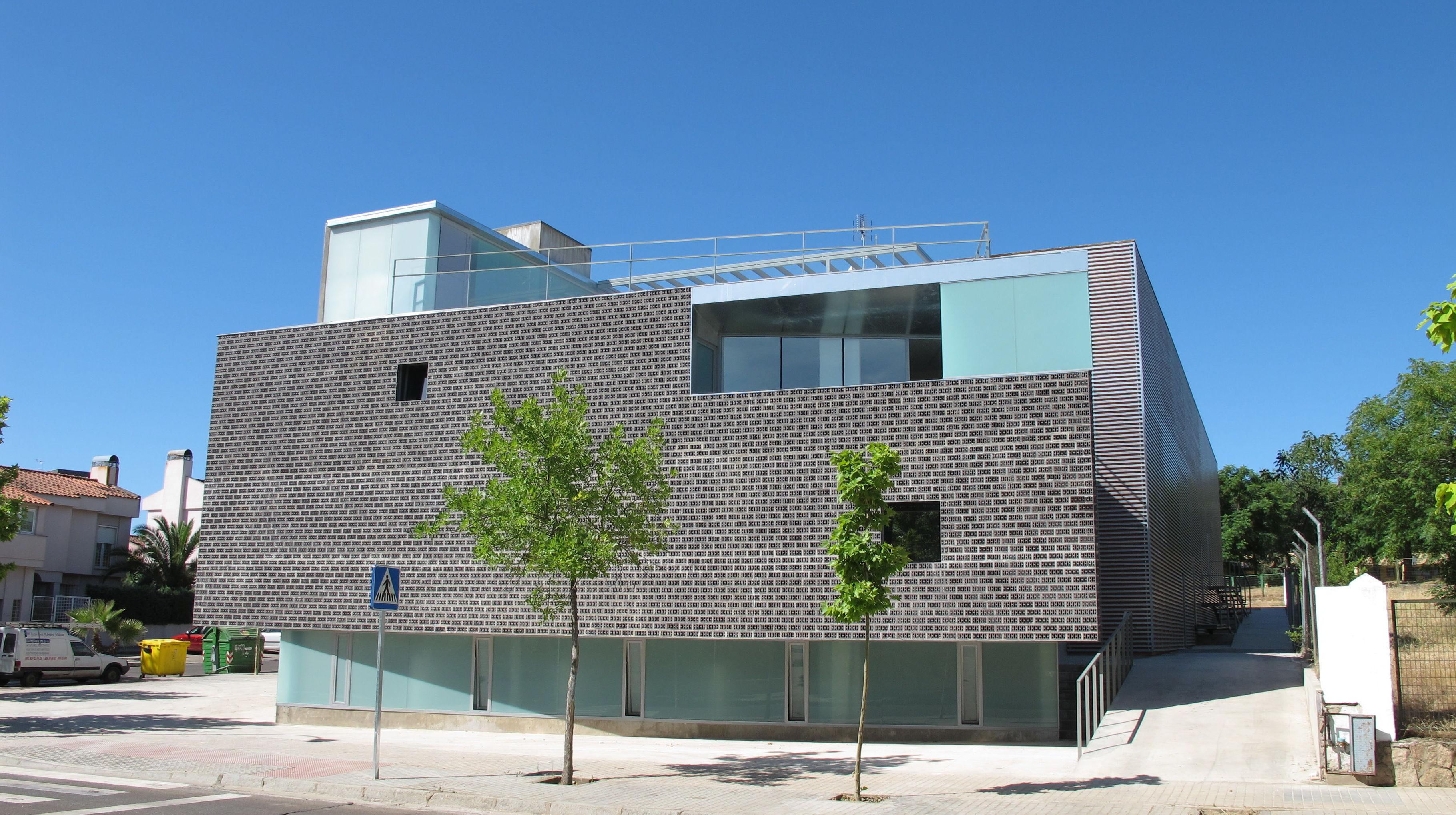 Exterior de la Casa de las Culturas