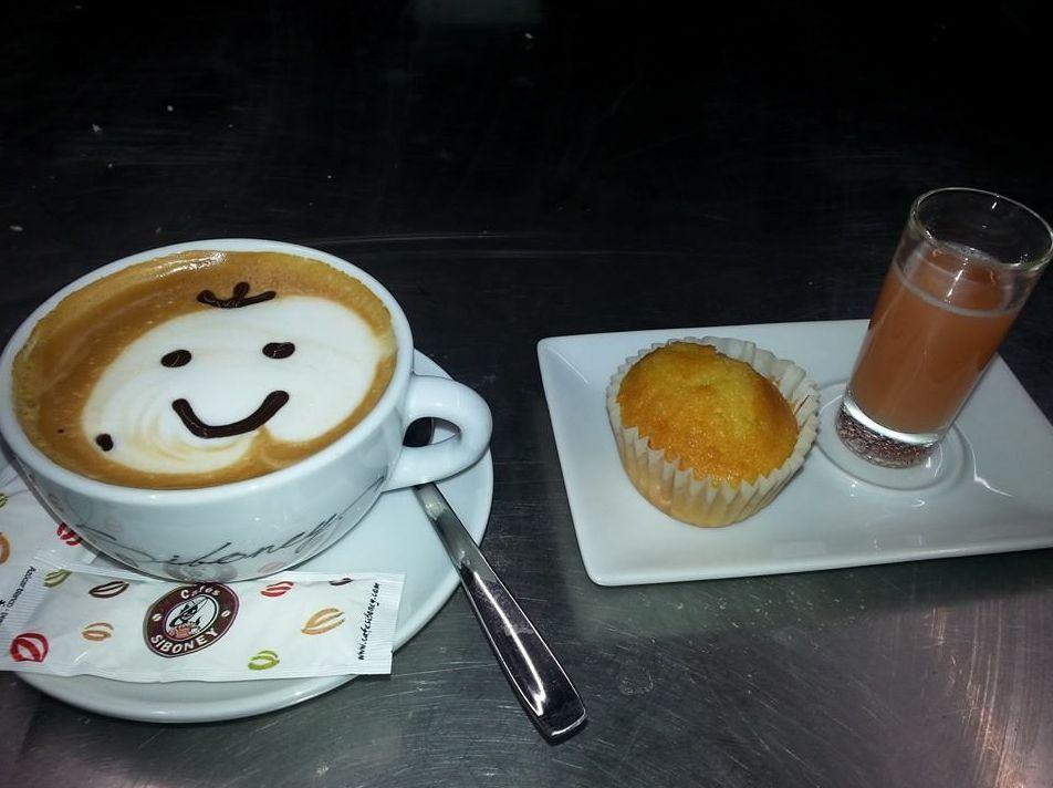 Desayuno con sonrisa