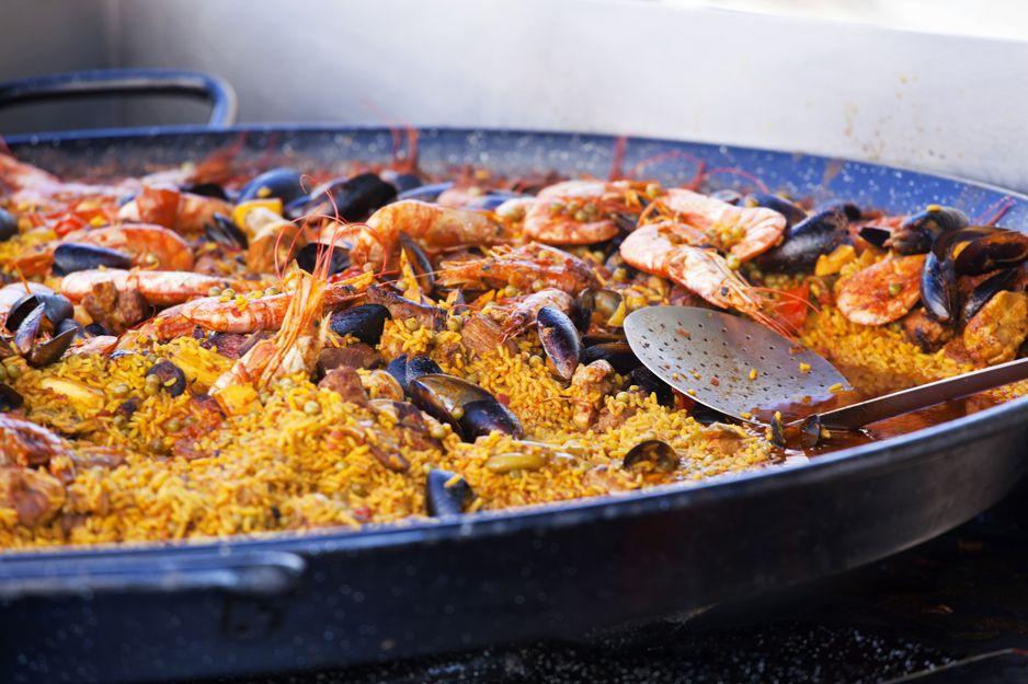 Comer arroz en Tetuán, Madrid