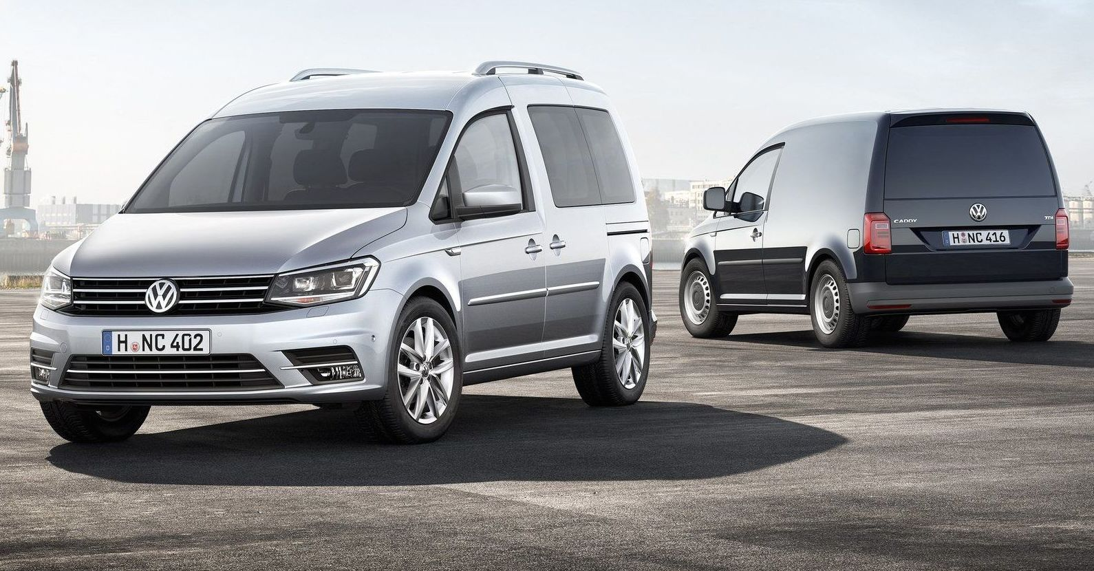 NUEVA VW CADDY Y VW TRANSPORTES