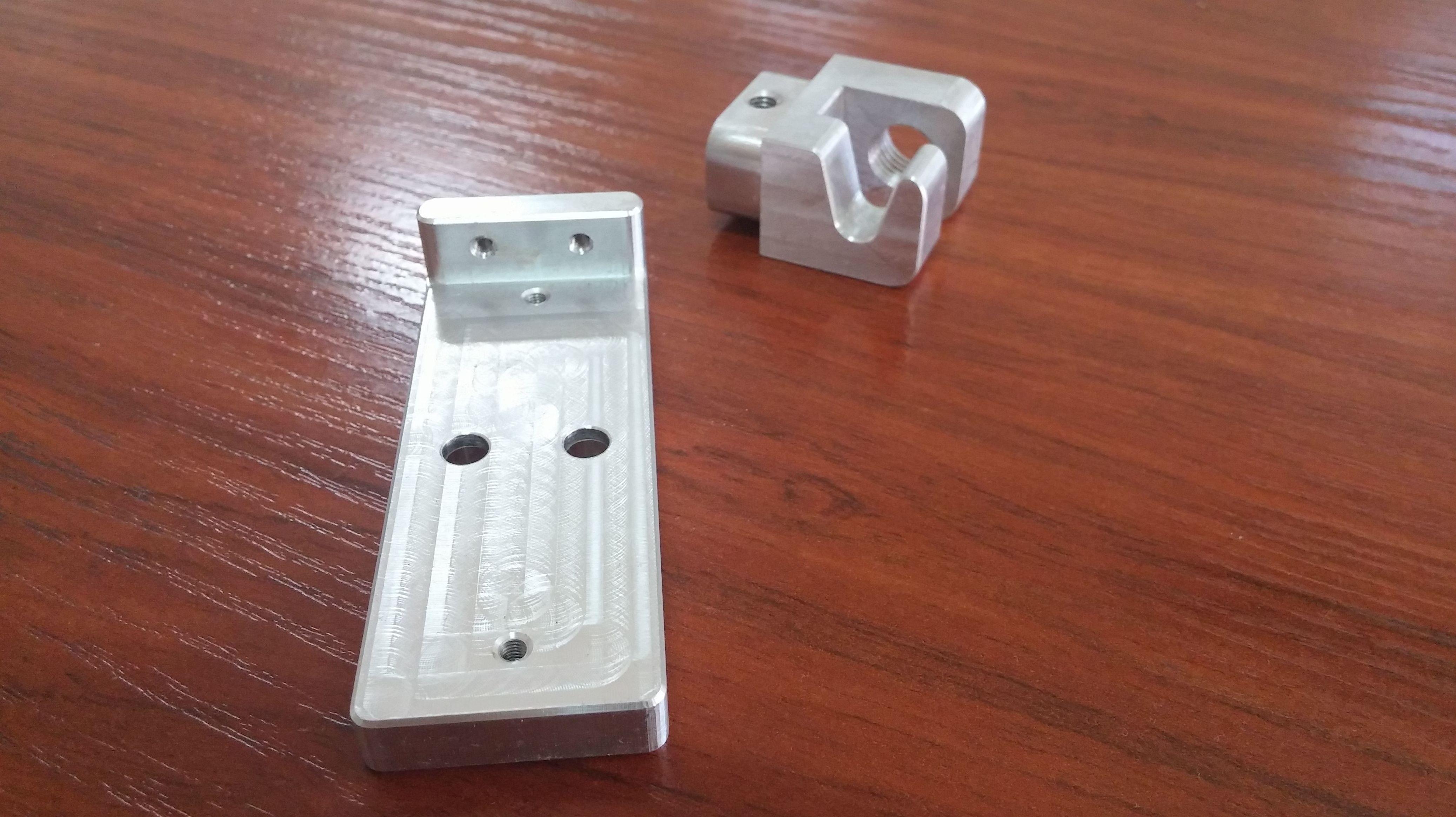 Piezas Aluminio Series