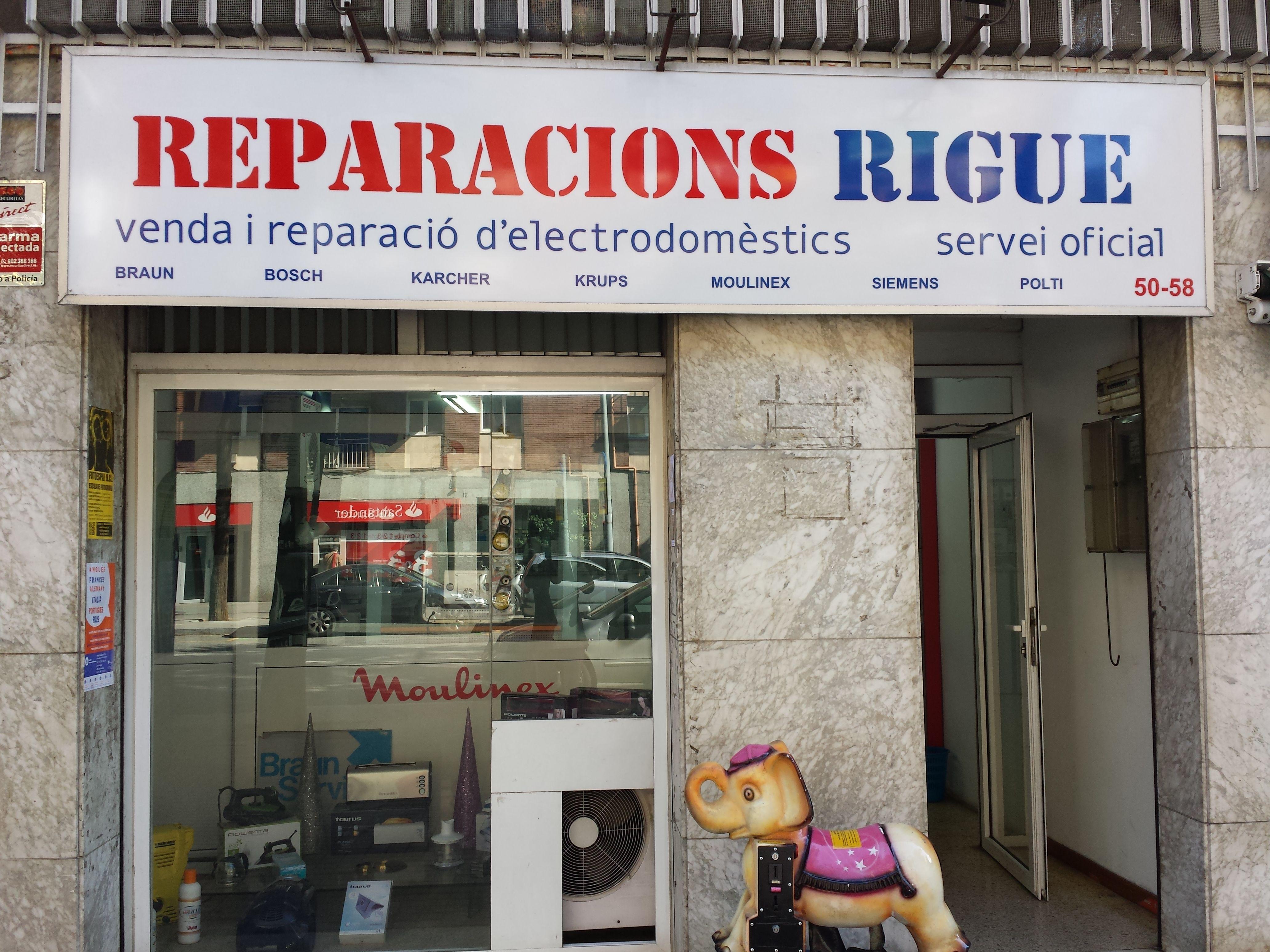 Tienda y reparación de electrodomésticos