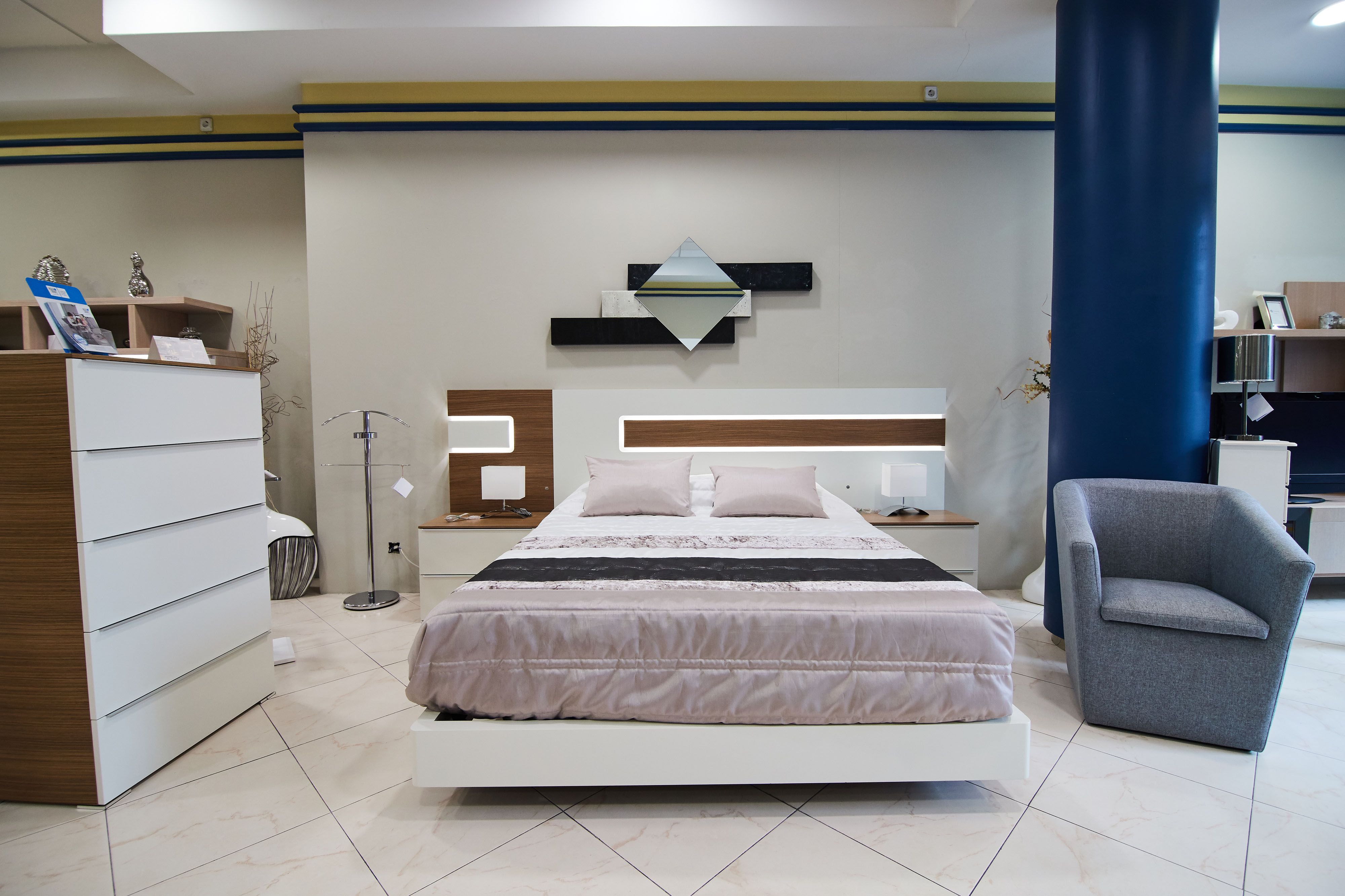 Dormitorio matrimonio Muebles El Pilar