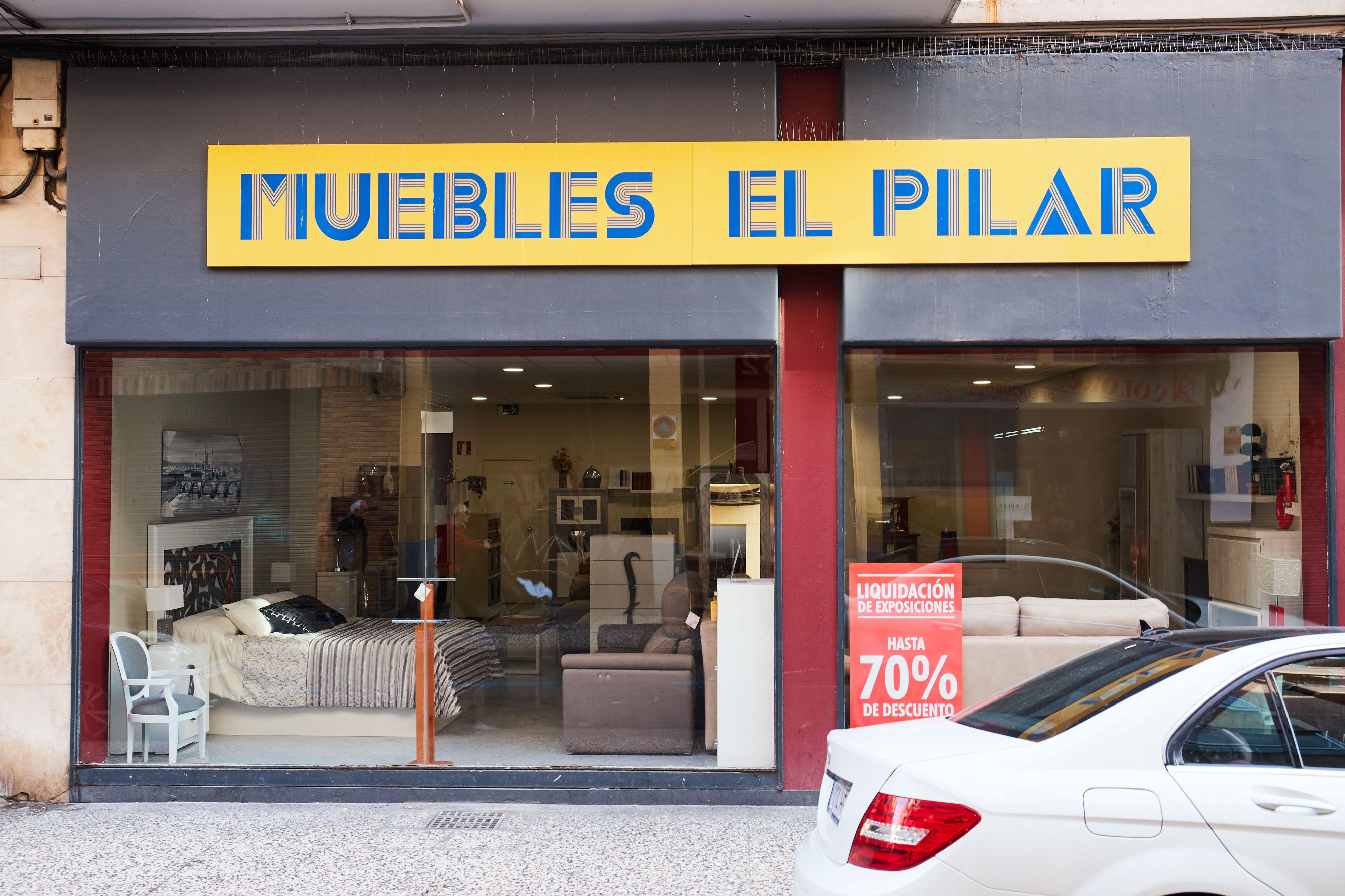 Fachada Muebles El Pilar