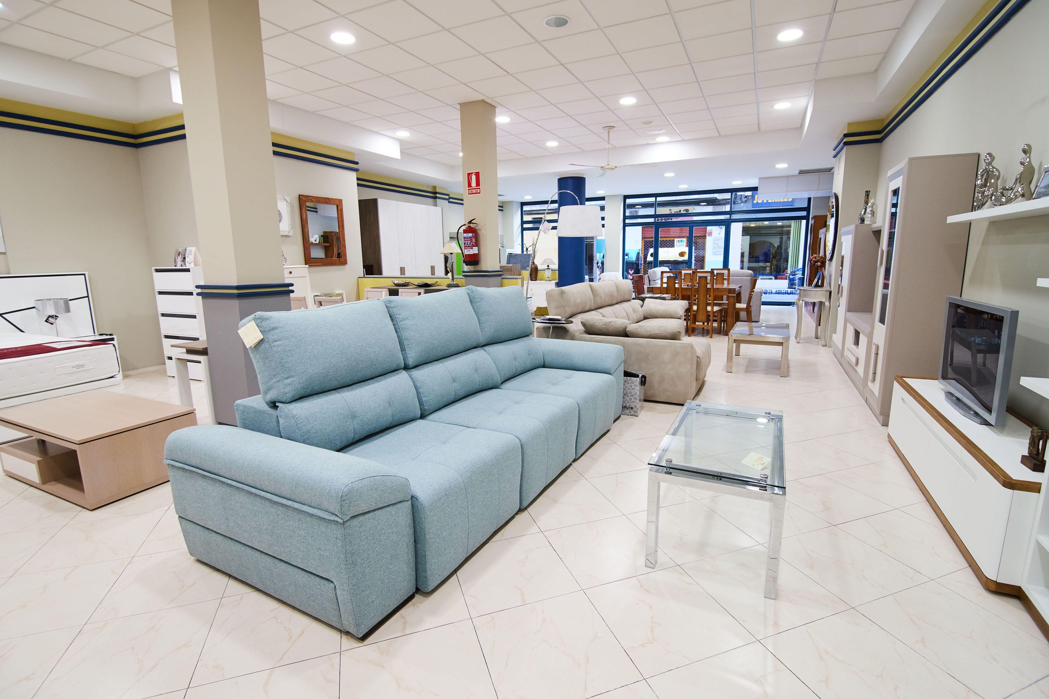 Zona salones Muebles El Pilar