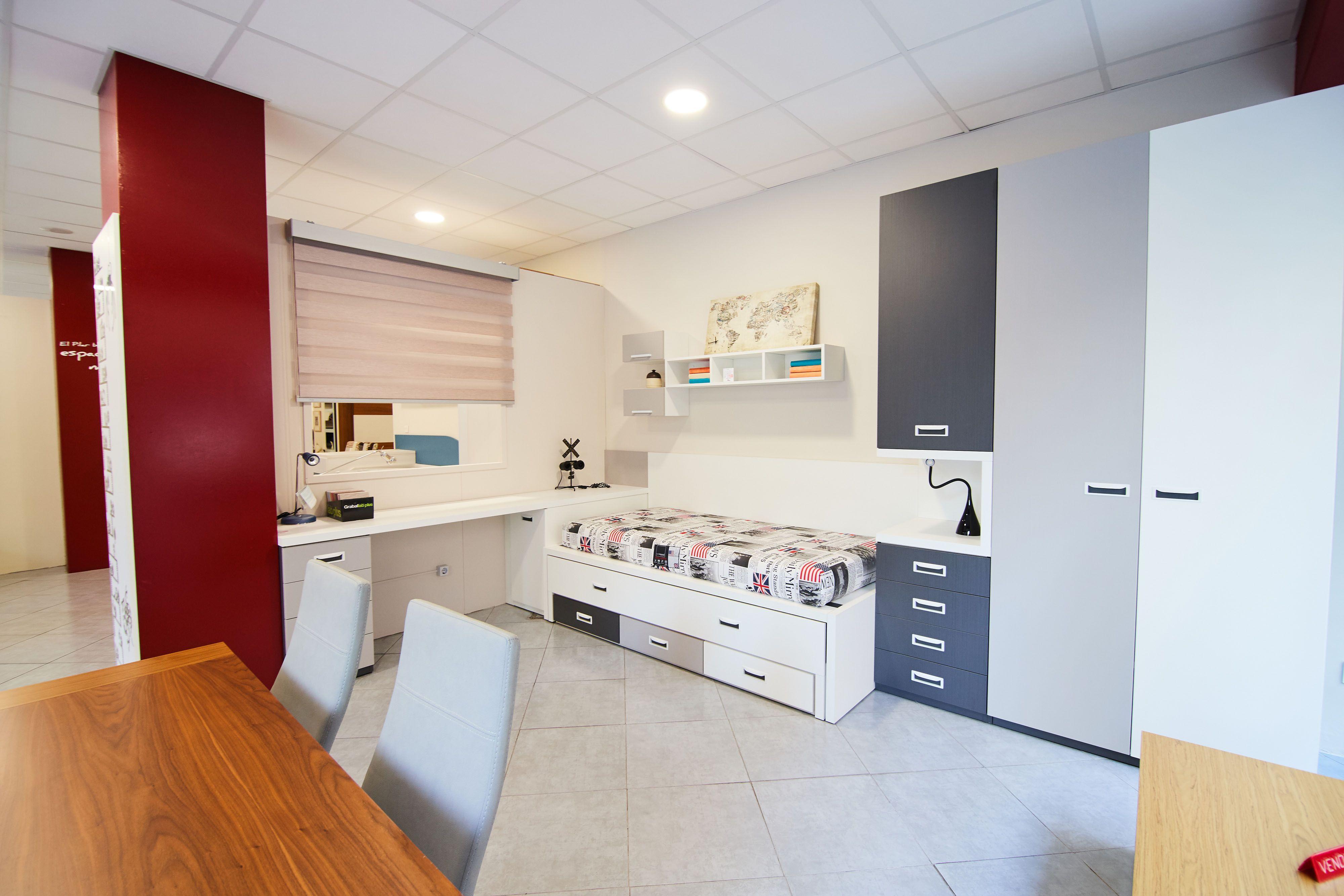 Dormitorio juvenil Muebles El Pilar