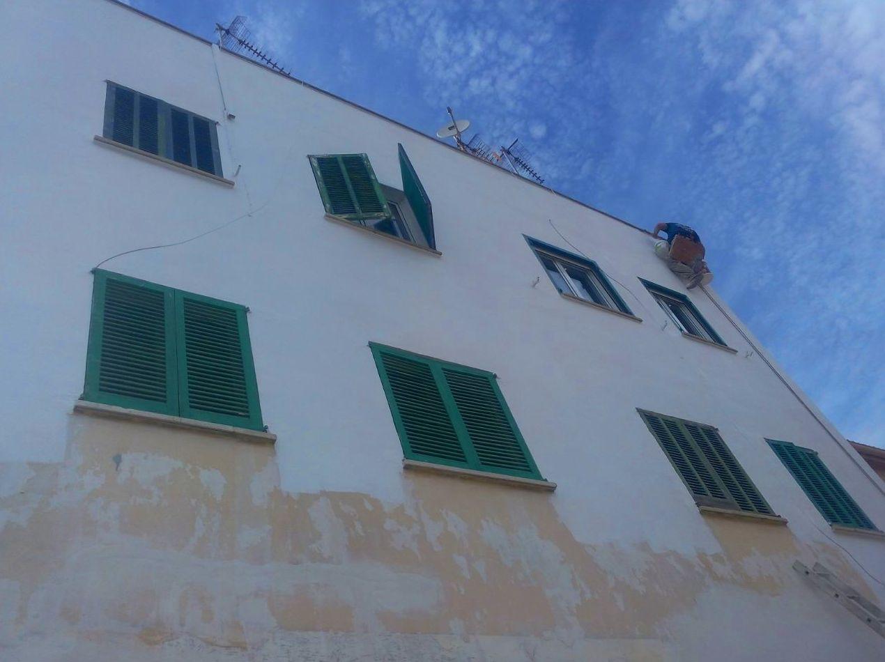 Restauración de fachadas Mallorca