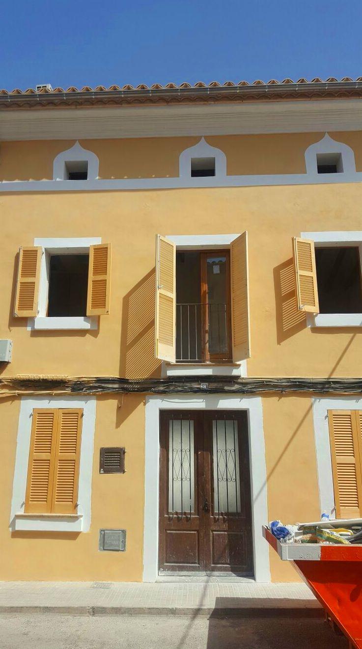 pintado de fachada en pollensa