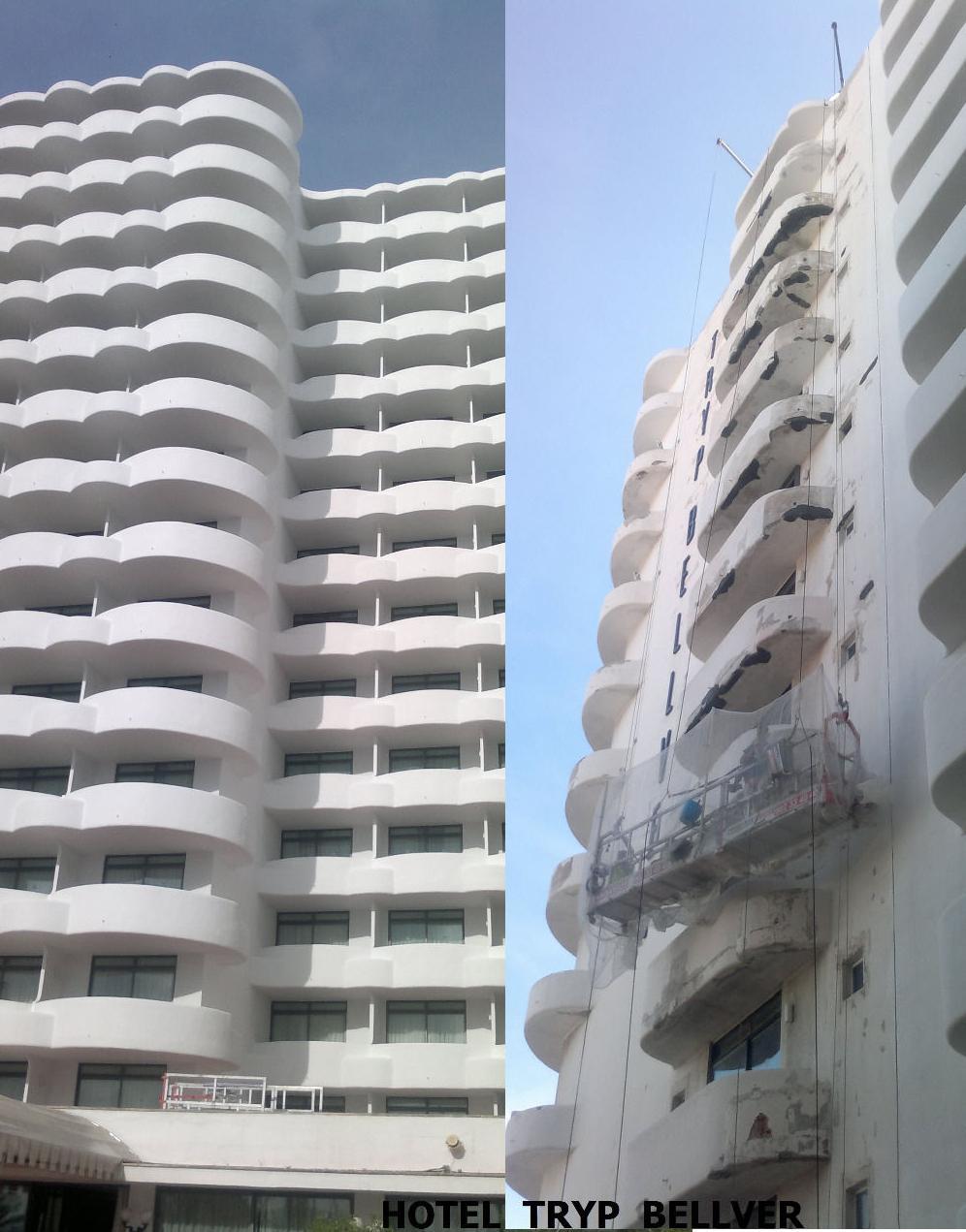 rehabilitacion de fachadas mallorca