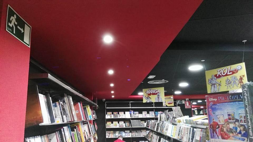 Sistemas de iluminación de locales comerciales