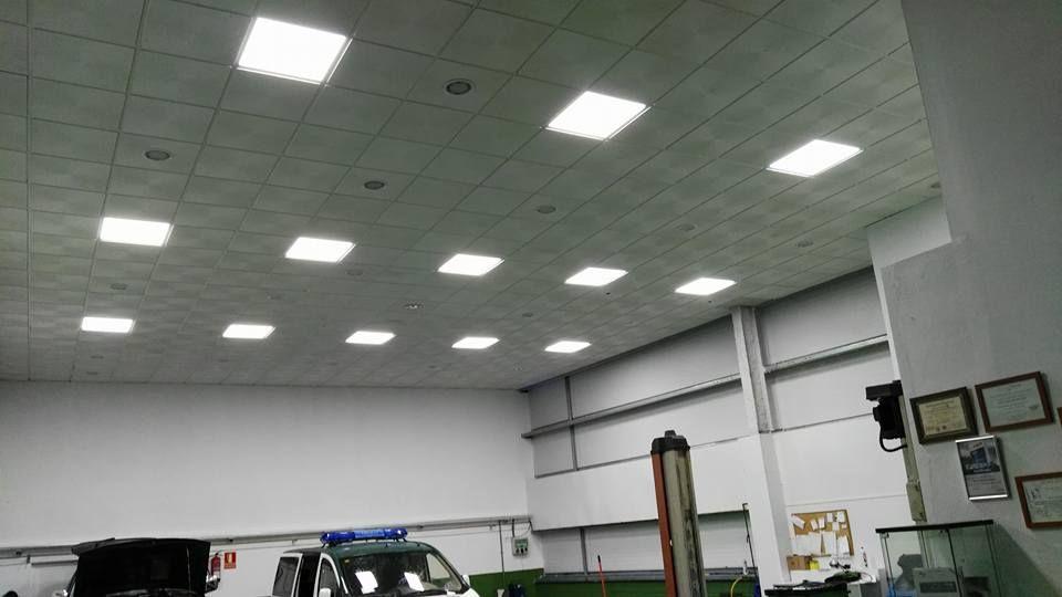 Instalación de sistemas de iluminación para empresas