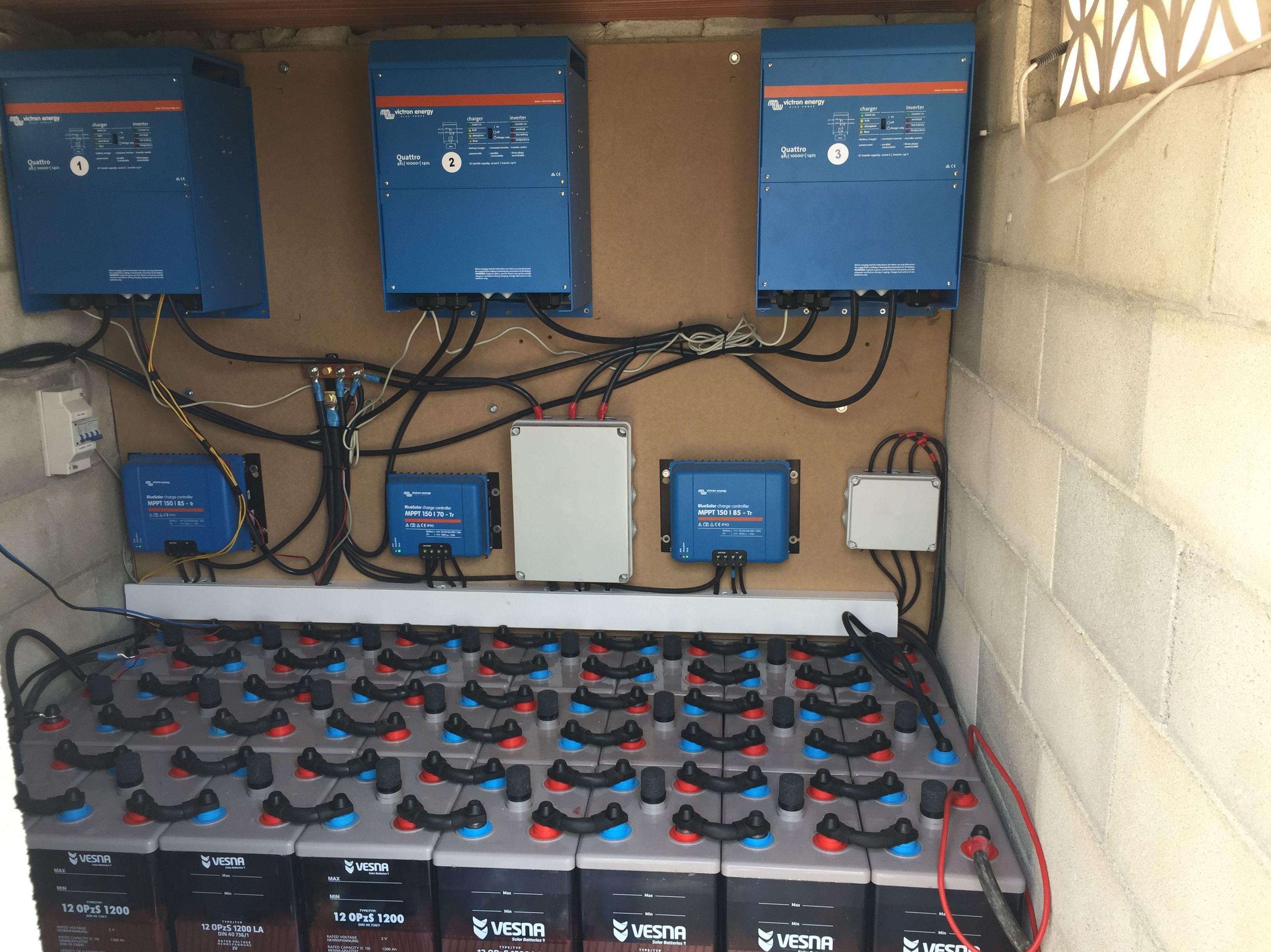 Fotovoltaica aislada en Hotel rural en Elche