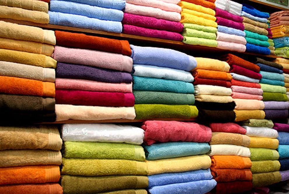 Gran variedad de toallas en Madrid
