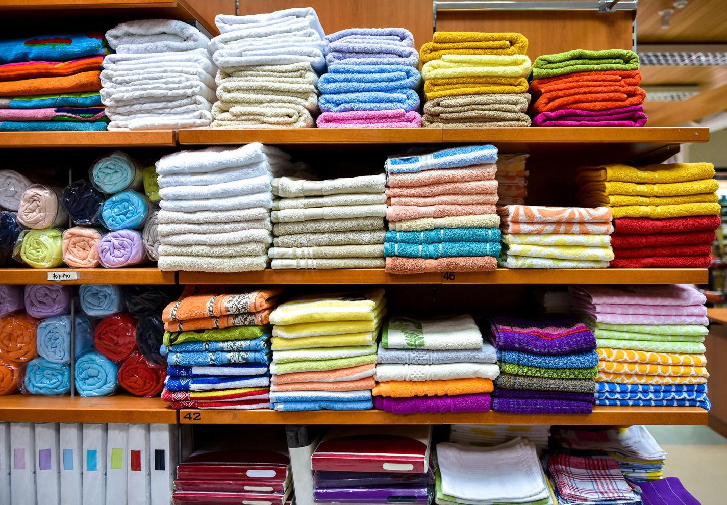 Amplio surtido de toallas en Carabanchel