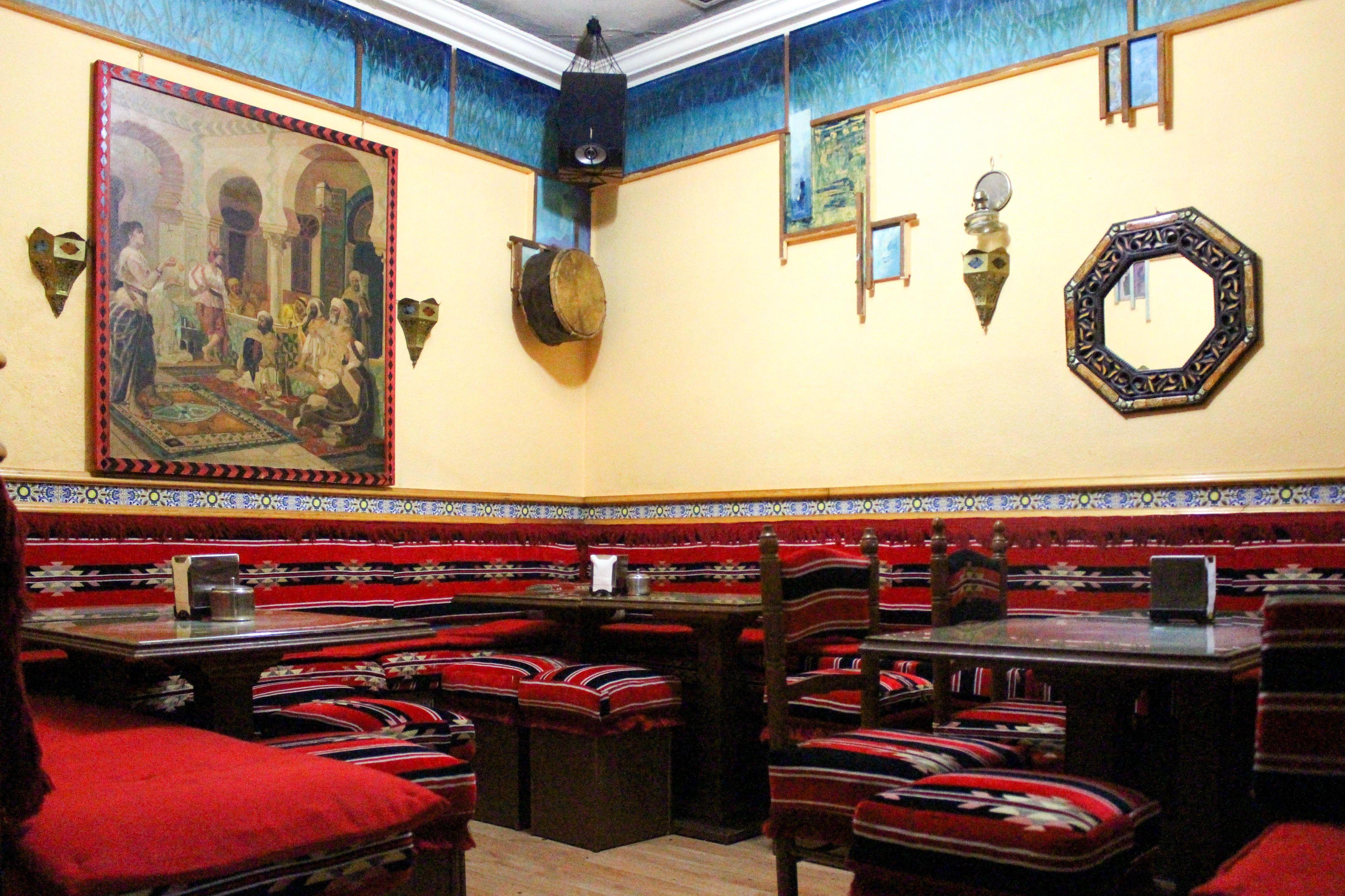 Foto 2 de Restaurante de comida árabe en Madrid en Madrid | El Califa. Restaurante Árabe y Tetería