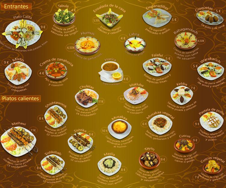Restaurante de comida árabe en Madrid