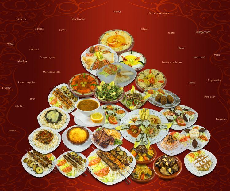 Comida árabe en Madrid