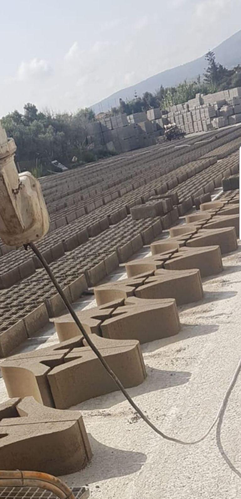Bordillos de jardineras: Materiales de construcción de Calmi S.A.