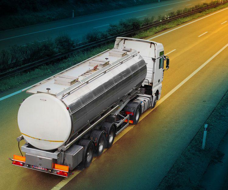 Empresa de transporte de combustible